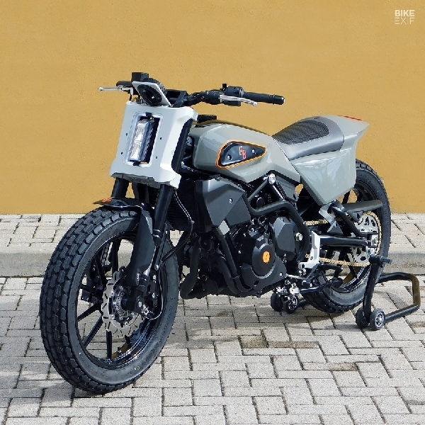 XR338, Pelacak Jalan Ala Harley Davidson Bagi Pengendara Muda