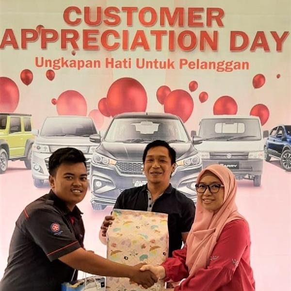 Ungkapan Hati dari Suzuki di Hari Pelanggan Nasional