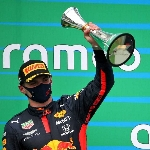 """F1: Hasil Grand Prix F1 Hungaria, Max Verstappen: """"Rasanya Seperti Juara"""""""