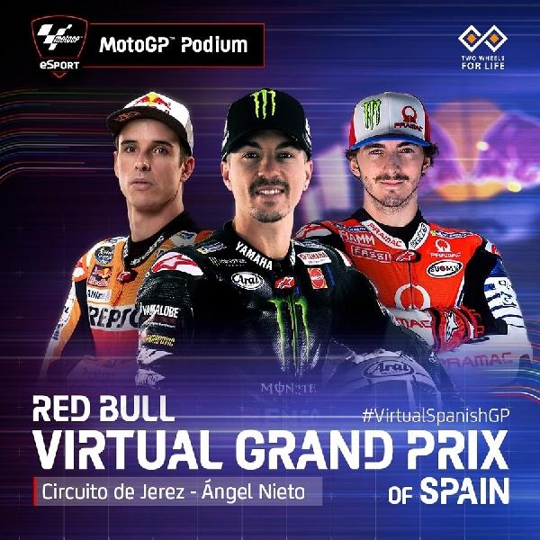 MotoGP: Hasil MotoGP, Moto2 dan Moto3 Grand Prix Virtual Spanyol