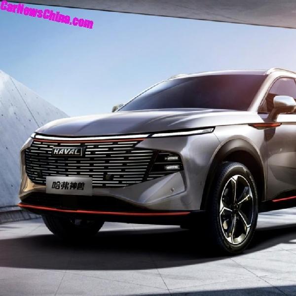 Cina Umumkan SUV Andalan Terbaru Mereka, Haval Shenshou