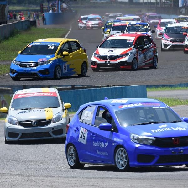 Jelang Seri Ketiga, Persaingan Pembalap Honda Jazz dan Brio Makin Ketat