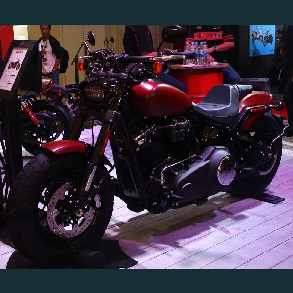 Harley-Davidson Andalkan New Fat Bob di IIMS 2018