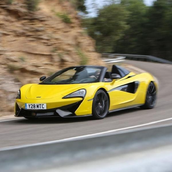 McLaren Luncurkan 570S Spider Limited Edition di Kanada