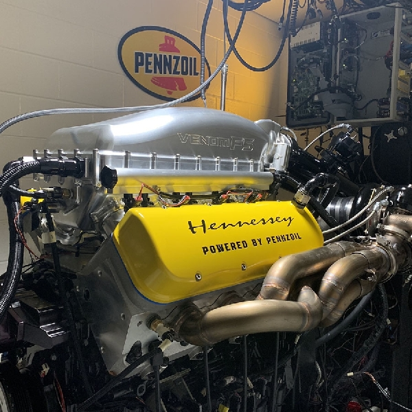 Pengujian Mesin Venom 'Fury' 1817 Horsepower Melebihi Ekspektasi