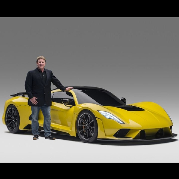 Hennessey Kembangkan Mesin Quad Turbo untuk Venom F5