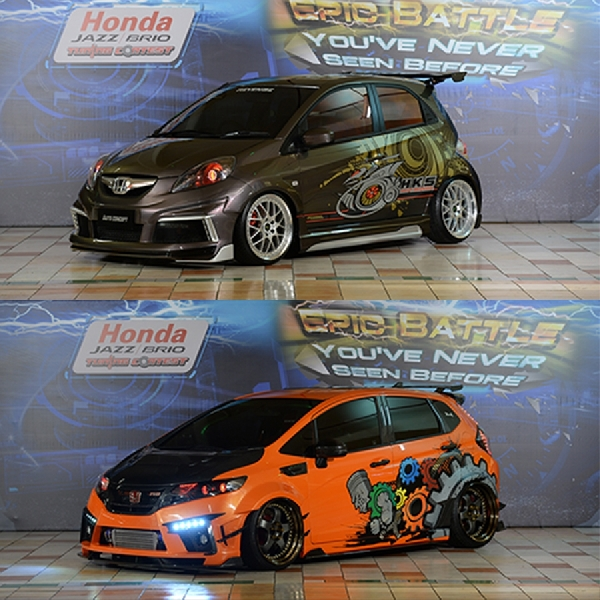 Inilah King of Honda Jazz dan King of Honda Brio 2016