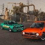 Homebuilt Klasiko 1972 JDM Nissan Skyline Hakosuka x Pogi 1972 Toyota Trueno