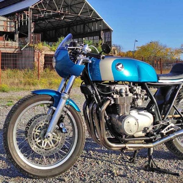 Tampilan Custom Honda CB550 1976 Dari Jerman