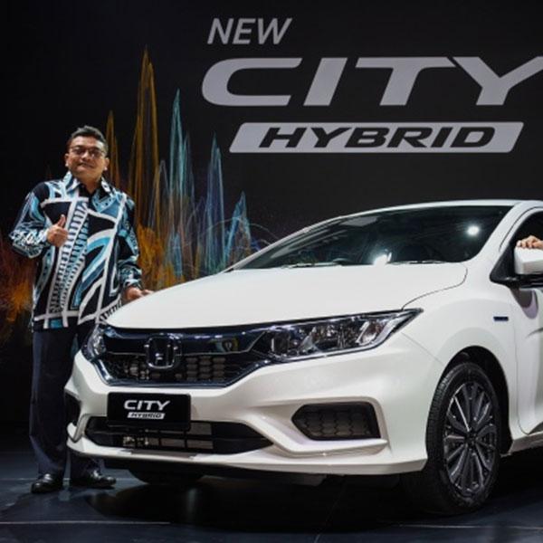 Honda City Hybrid Hadir di Malaysia