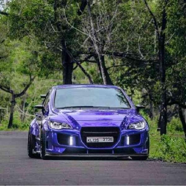 Modifikasi Honda Civic - Street Race Deep Purple