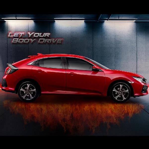 Honda Civic Hatchback Turbo Resmi Dikenalkan