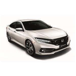 Gantikan White Orchid, Honda Civic dan BR-V Kini Tersedia Warna Platinum White Pearl