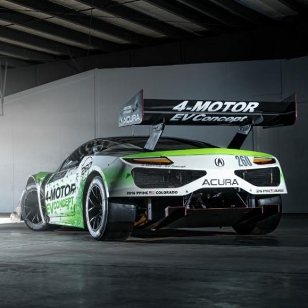 Terinspirasi NSX, Honda EV Concept Siap Hadapi Pikes Peak