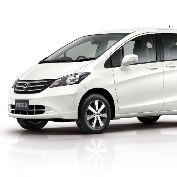 Honda Freed Bermesin Kecil Siap Meluncur di Indonesia
