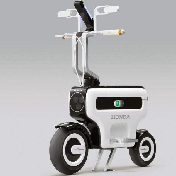 'Motocompacto', Konsep Motor Listrik Lipat Honda Dalam Pengajuan Paten