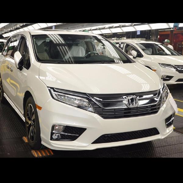 Honda Odyssey 2018 Mulai Resmi Dirakit di Amerika Serikat