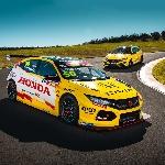 Honda Rayakan Peluncuran Livery Khusus Civic Type R TCR Edisi Terbatas di Australia
