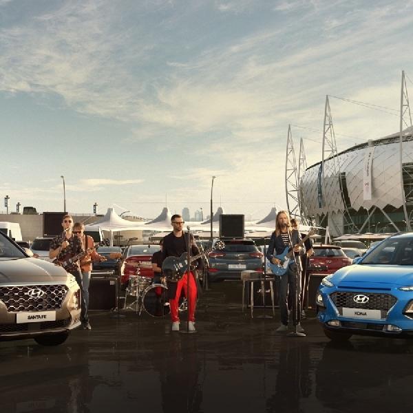 Hyundai Pamer Kecanggihan Kendaraan di Piala Dunia 2018