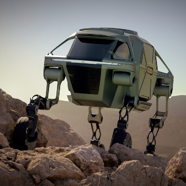 Konsep Hyundai Elevate Cocok Sebagai Alat Pertolongan Pertama