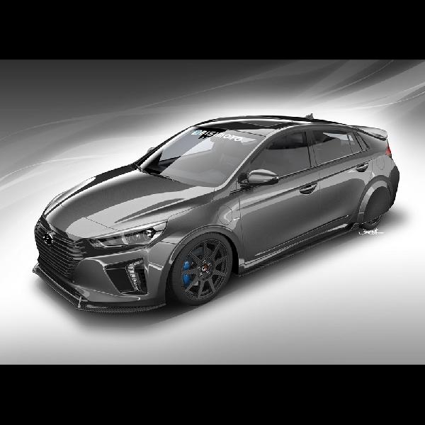 Hyundai HyperEconiq Ioniq Bakal di Bawa Ke SEMA 2017