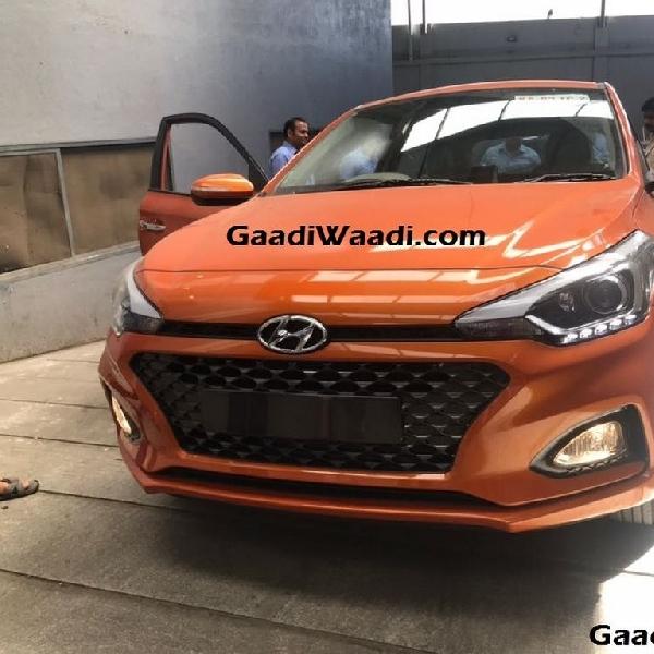 Hyundai i20 Facelift akan Hadir dengan Warna Orange