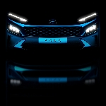 Hyundai Perlihatkan Teaser Kona Dan Sporty Kona N Line Facelift