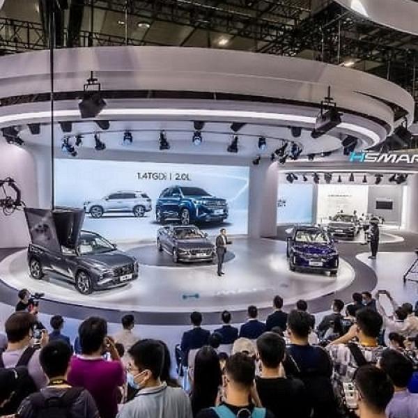 Hyundai Mistra Debut di Tiongkok