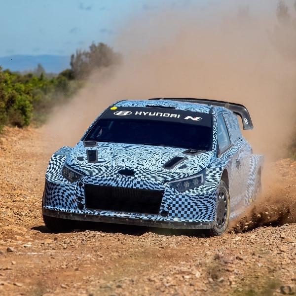Hyundai Mulai Uji Mobil WRC Hybrid Berbasis i20 N