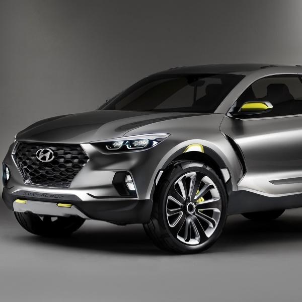 Hyundai Berencana Rilis Santa Cruz Pick Up Tahun 2020