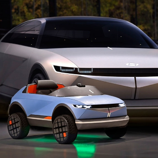 Hyundai Tampilkan Kendaraan Listrik Terkecil