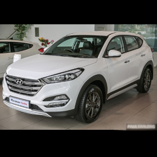 Hyundai Tucson Turbo Sudah Mulai Pamer di Malaysia
