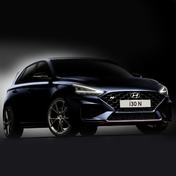 Hyundai Perlihatkan Model i30 N facelift 2021 Dengan 8-Speed