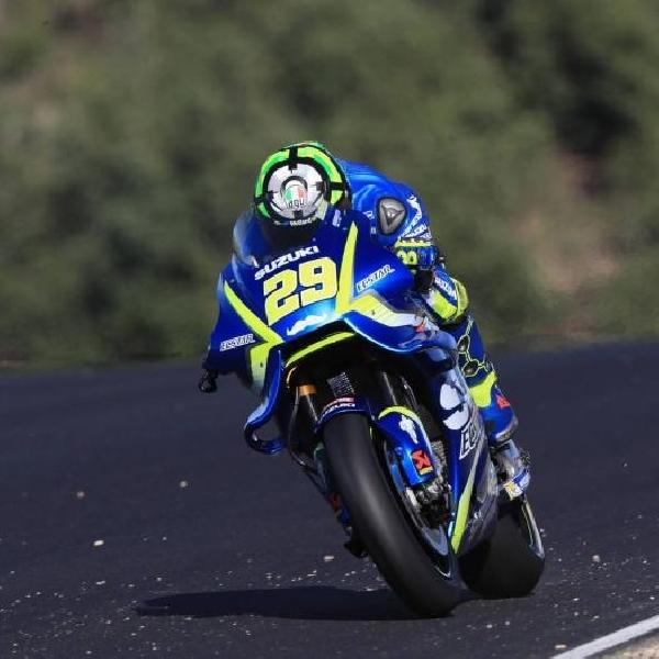 MotoGP: Iannone Jadi Pebalap Tercepat di Jerez