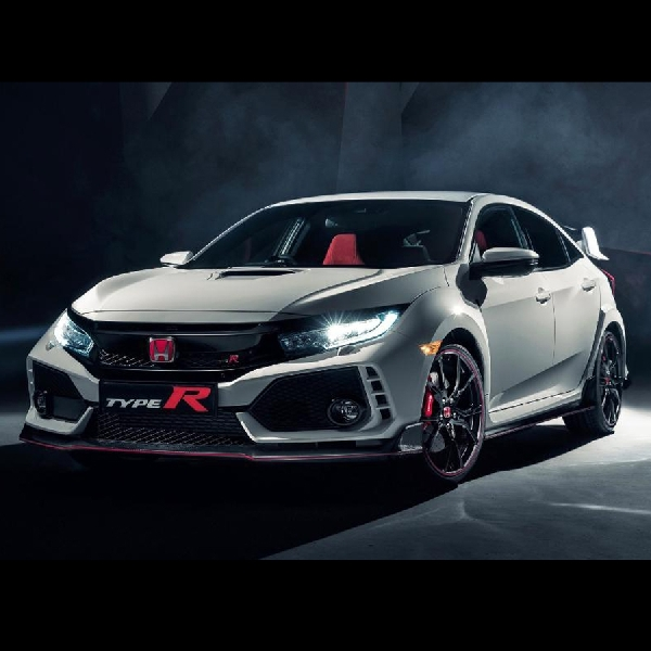 All New Honda Civic Type-R Mejeng di Jenewa 2017