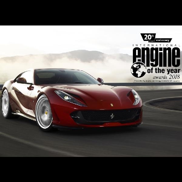 Mesin V8 Turbo Charged Ferrari Terpilih Menjadi Best Engine of The Year 2018
