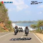 Tim Touring Suzuki GSX150 Bandit Singgah di Yogyakarta