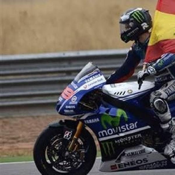 MotoGP: Digdaya di Valencia, Lorenzo Sah Sebagai Juara Dunia