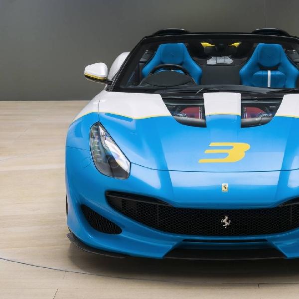 Ferrari Rilis Satu-satunya Model SP3JC