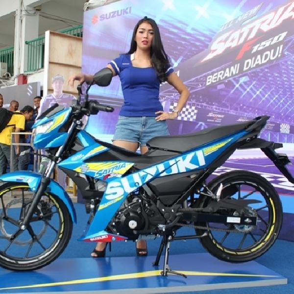 Suzuki Optimis Penjualan Suzuki All New Satria F150 Injection Tembus 12 Ribu