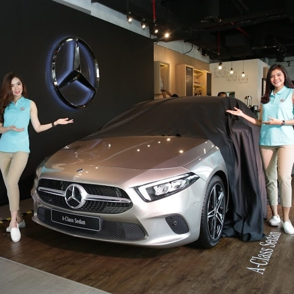 New A Class Amunisi Baru Sedan Mercedes Benz