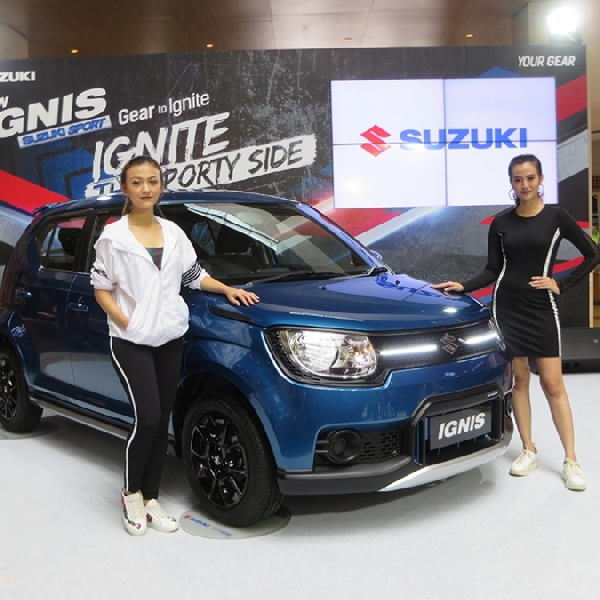 Suzuki Hadirkan Ignis Sport Edition Yang Eksklusif