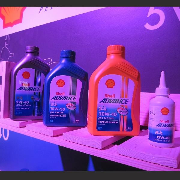Shell Lubricants Luncurkan Oli Shell Advance Untuk Skuter