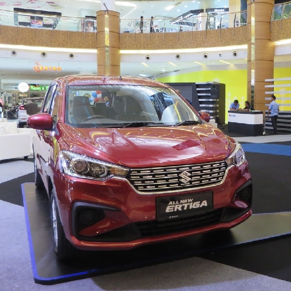 Cicilan All New Suzuki Ertiga Cukup Rp 100.000 Saja