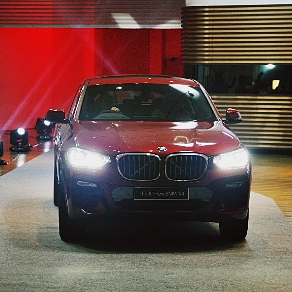BMW Buka Tahun 2019 dengan Peluncuran All New BMW X4