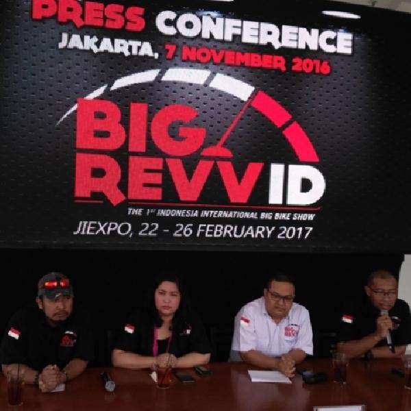 Pameran Big Bike Pertama Siap Sapa Indonesia