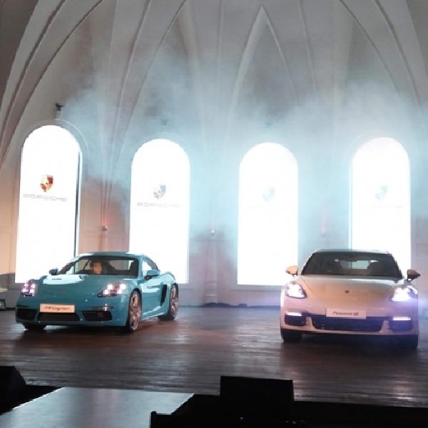 Porsche Perkenalkan 718 Cayman dan Panamera
