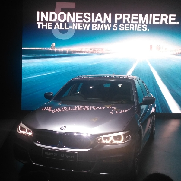 BMW Seri 5 Rakitan Lokal Resmi Dikenalkan