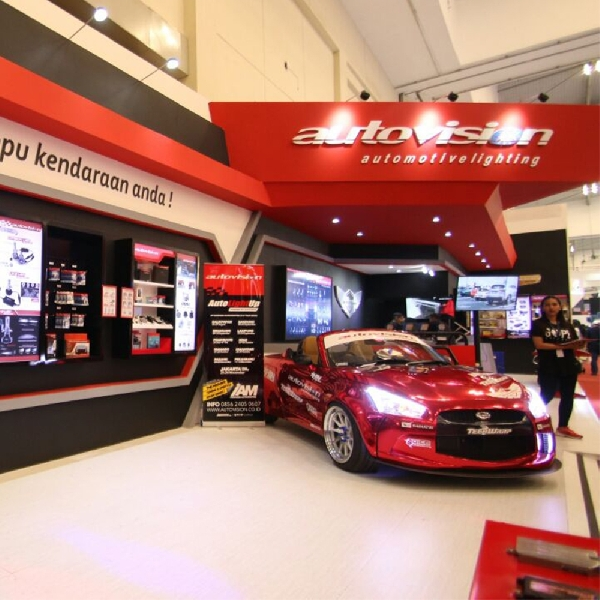 Saatnya Upgrade Lampu LED Autovision di GIIAS 2017