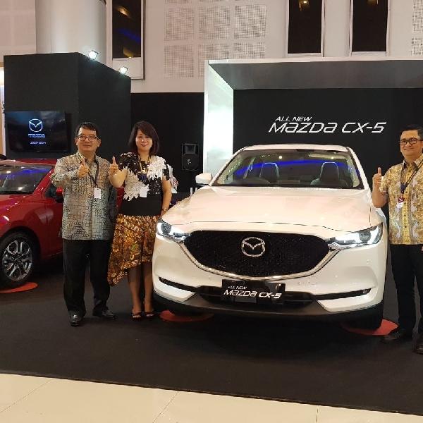 Tampil Perdana, Mazda Indonesia Ramaikan GIIAS Surabaya 2017